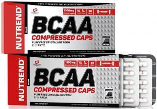 NUTREND Bcaa Compressed Caps 120 kapslí pánské