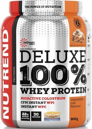 NUTREND Deluxe 100% Whey 900g Škoricový Snack pánské