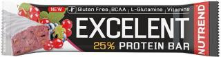 NUTREND Excelent Protein Bar 40 g Černý Ribíz s Brusinkami pánské