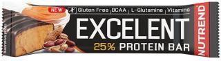 NUTREND Excelent Protein Bar 85 g Arašidové Máslo pánské