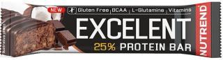 NUTREND Excelent Protein Bar 85 g Chocolate/Coconut pánské