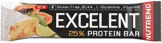 NUTREND Excelent Protein Bar 85 g Limetka s Papájí pánské
