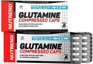 NUTREND Glutamine Compressed Caps 120 kapslí pánské