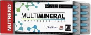 NUTREND Multimineral Compressed Caps 60 kapslí pánské
