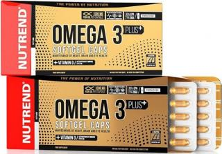 NUTREND Omega 3 Plus Softgel 120 kapslí pánské