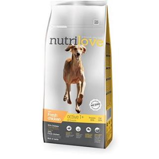 Nutrilove ACTIVE fresh chicken 12 kg