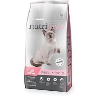 Nutrilove STERILE cat fresh chicken 7 kg