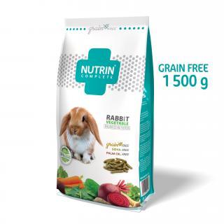 Nutrin Complete Králík Vegetable GRAIN FREE 1500g