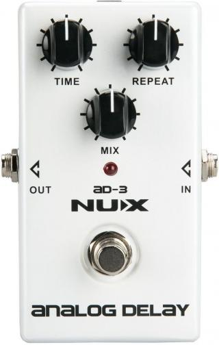 Nux AD-3 Analog Delay White