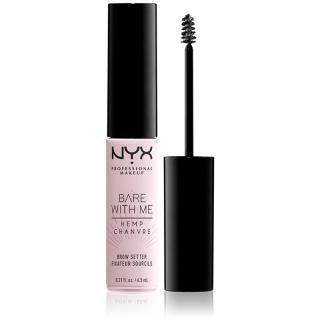 NYX Professional Makeup Bare With Me Hemp Brow Setter gel na obočí 6,5 ml dámské 6,5 ml
