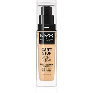 NYX Professional Makeup Cant Stop Wont Stop vysoce krycí make-up odstín 07 Natural 30 ml dámské 30 ml