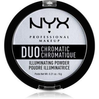 NYX Professional Makeup Duo Chromatic rozjasňovač odstín 01 Twilight Tint 6 g dámské 6 g
