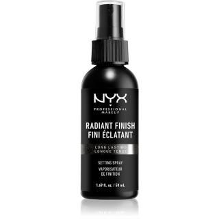 NYX Professional Makeup Makeup Setting Spray Radiant rozjasňující fixační sprej 50 ml dámské 50 ml