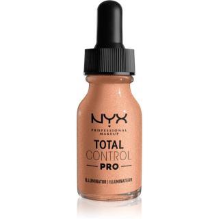 NYX Professional Makeup Total Control Pro Illuminator tekutý rozjasňovač odstín 01 - Cool 13 ml dámské 13 ml