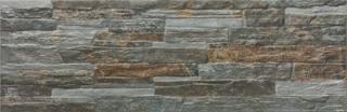 Obklad Geotiles Mubi magma 17x52 cm mat MUBIMA šedá magma