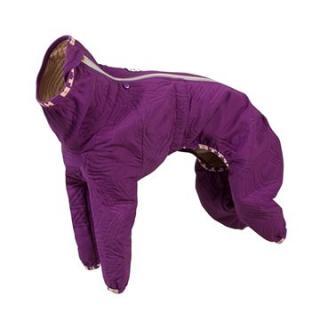 Obleček Hurtta Casual prošívaný overal fialový 60L