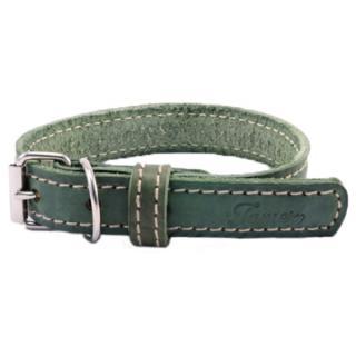 Obojek tamer 3,5cm/65cm zelený