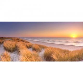 OBRAZ NA PLÁTNĚ, pláž & moře, 115/55 cm - vícebarevná 115