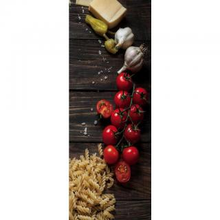 OBRAZ SKLENĚNÝ, jídlo & pití, 30/80/1,40 cm - vícebarevná 30/80/1,40
