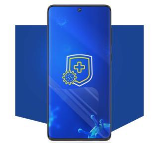 Ochranná antimikrobiální 3mk folie Silver Protection  pro Samsung Galaxy S21 Ultra