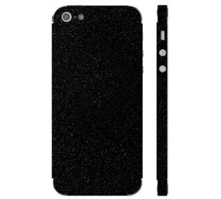 Ochranná fólie 3mk Ferya pro Apple iPhone 5S, černá lesklá