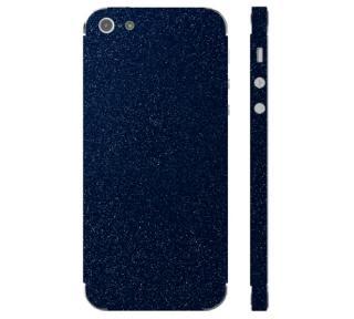 Ochranná fólie 3mk Ferya pro Apple iPhone 5S, tmavě modrá lesklá