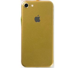 Ochranná fólie 3mk Ferya pro Apple iPhone 7, zlatá lesklá