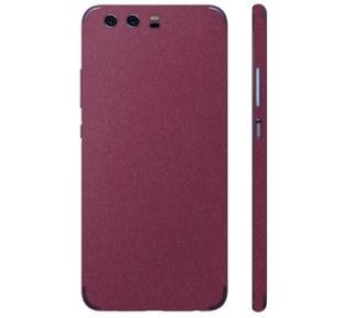 Ochranná fólie 3mk Ferya pro Huawei P9, vínově červená matná