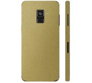 Ochranná fólie 3mk Ferya pro Samsung Galaxy A8 2018, zlatá lesklá