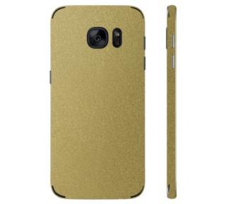 Ochranná fólie 3mk Ferya pro Samsung Galaxy S7, zlatá lesklá