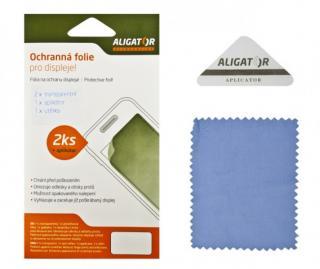 Ochranná fólie ALIGATOR na Aligator S4080 Duo, 2ks   aplikátor