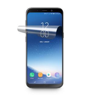 Ochranná fólie CellularLine pro Samsung Galaxy A8 2018, lesklá