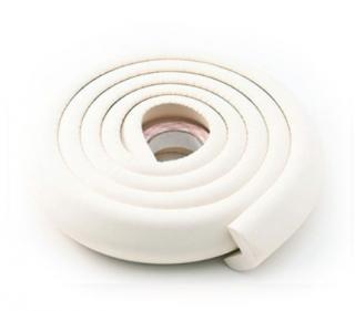 Ochranná páska na hrany stolu a nábytku - 2 m - 11 barev Barva: bílá