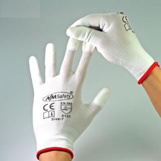 Ochranné textilní rukavice 6 kusů Velikost: S