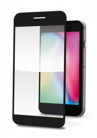 Ochranné tvrzené sklo ALIGATOR PRINT pro Huawei P Smart 2021, black