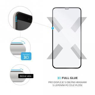 Ochranné tvrzené sklo FIXED 3D Full-Cover pro Apple iPhone 12 Pro Max, černá