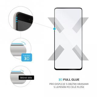 Ochranné tvrzené sklo FIXED 3D Full-Cover pro Samsung Galaxy A51, černá