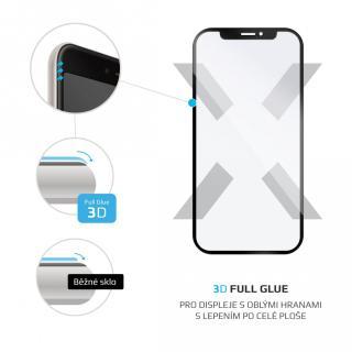 Ochranné tvrzené sklo FIXED 3D Full-Cover pro Samsung Galaxy A72/A72 5G, černá