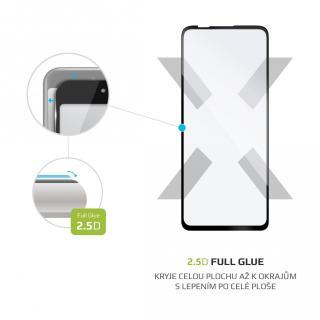 Ochranné tvrzené sklo FIXED Full-Cover pro Motorola Edge S/Moto G10, černá