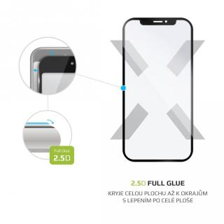 Ochranné tvrzené sklo FIXED Full-Cover pro Motorola Moto E6i, černá