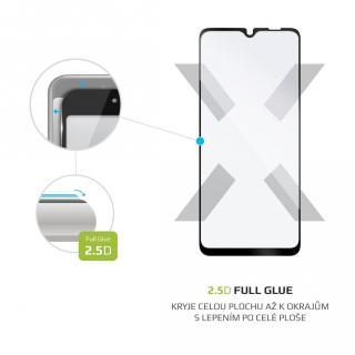 Ochranné tvrzené sklo FIXED Full-Cover pro Samsung Galaxy M02, černá