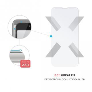Ochranné tvrzené sklo FIXED pro Motorola E6s Plus, transparentní