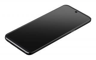 Ochranné tvrzené sklo pro Cellularline Capsule pro Samsung Galaxy A51, černé