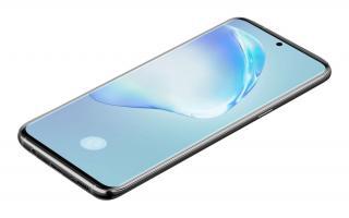 Ochranné tvrzené sklo pro Cellularline Glass pro Samsung Galaxy S20 , černá
