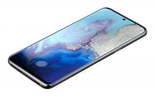 Ochranné tvrzené sklo pro Cellularline Glass pro Samsung Galaxy S20, černá