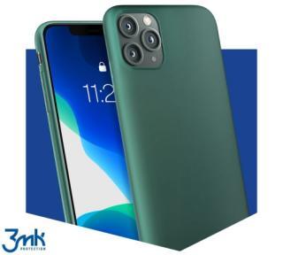 Ochranný kryt 3mk Matt Case pro Huawei P30 Lite, tmavě zelená