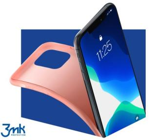 Ochranný kryt 3mk Matt Case pro Samsung Galaxy Note20, růžová