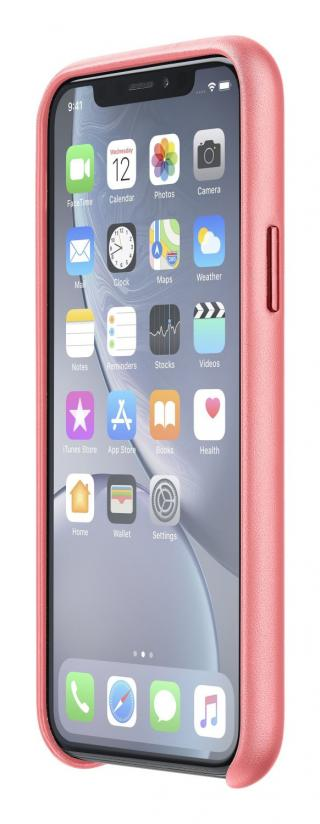 Ochranný kryt Cellularline Elite pro Apple iPhone XR, oranžová