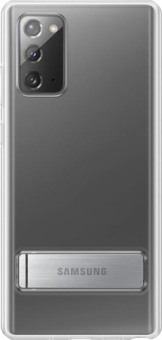 Ochranný kryt Clear Standing Cover pro Samsung Galaxy Note20 EF-JN980CTEGEU, transparentní