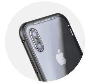 Ochranný kryt MAGNETO pro Apple iPhone XS Max, černá